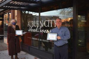 Auburn City Steakhouse wins 2020 Outreach ARCHie